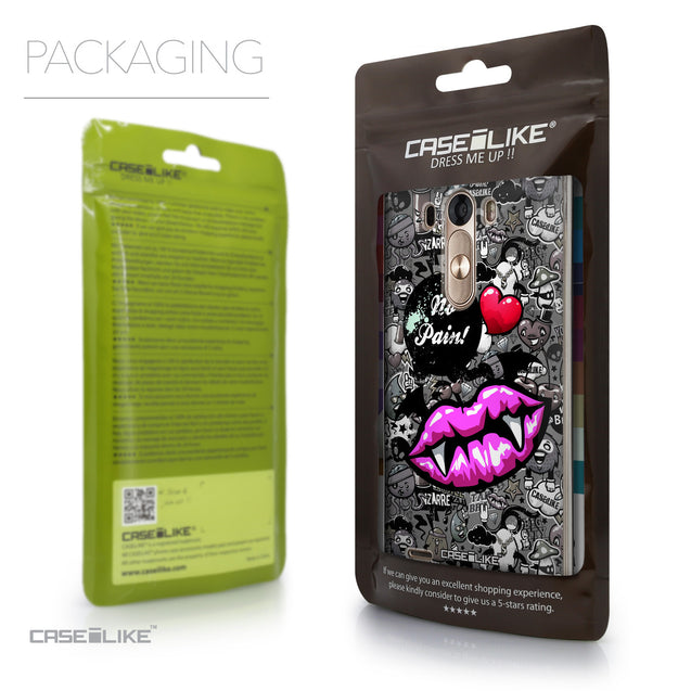 Packaging - CASEiLIKE LG G3 back cover Graffiti 2708