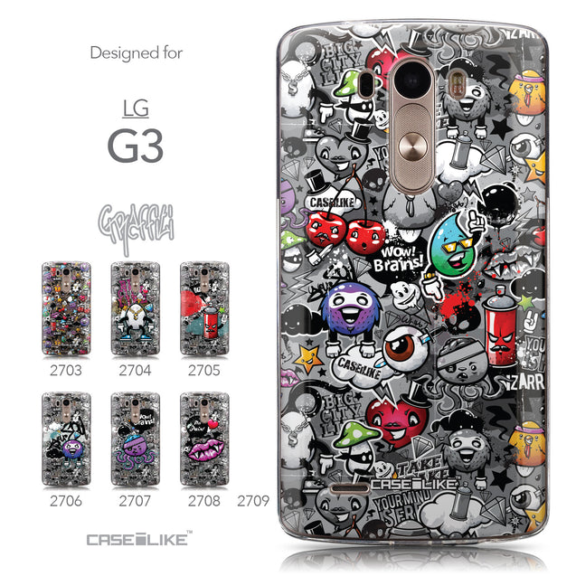 Collection - CASEiLIKE LG G3 back cover Graffiti 2709