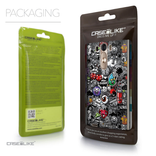 Packaging - CASEiLIKE LG G3 back cover Graffiti 2709