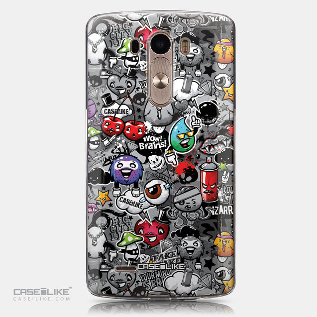 CASEiLIKE LG G3 back cover Graffiti 2709