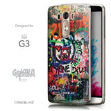 Front & Side View - CASEiLIKE LG G3 back cover Graffiti 2721