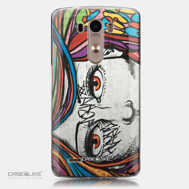 CASEiLIKE LG G3 back cover Graffiti Girl 2725