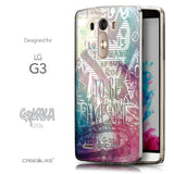 Front & Side View - CASEiLIKE LG G3 back cover Graffiti 2726