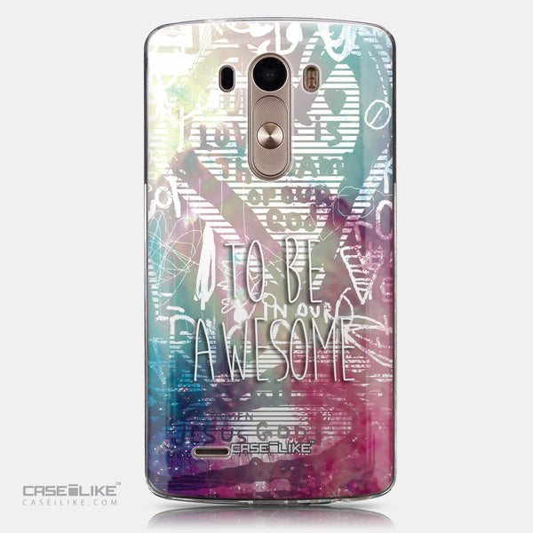 CASEiLIKE LG G3 back cover Graffiti 2726