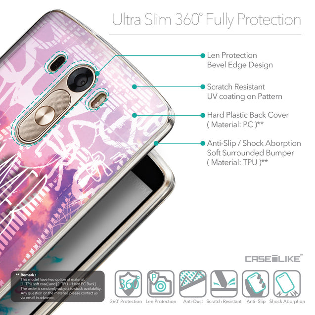 Details in English - CASEiLIKE LG G3 back cover Graffiti 2727