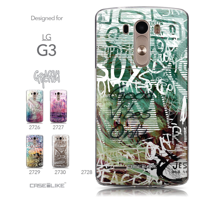 Collection - CASEiLIKE LG G3 back cover Graffiti 2728