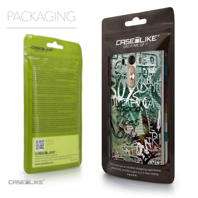 Packaging - CASEiLIKE LG G3 back cover Graffiti 2728
