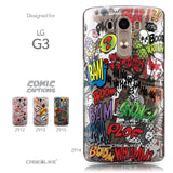 Collection - CASEiLIKE LG G3 back cover Comic Captions 2914