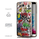 Front & Side View - CASEiLIKE LG G3 back cover Comic Captions 2914