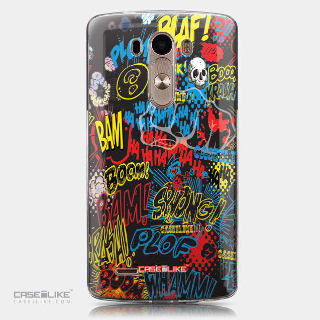 CASEiLIKE LG G3 back cover Comic Captions Black 2915