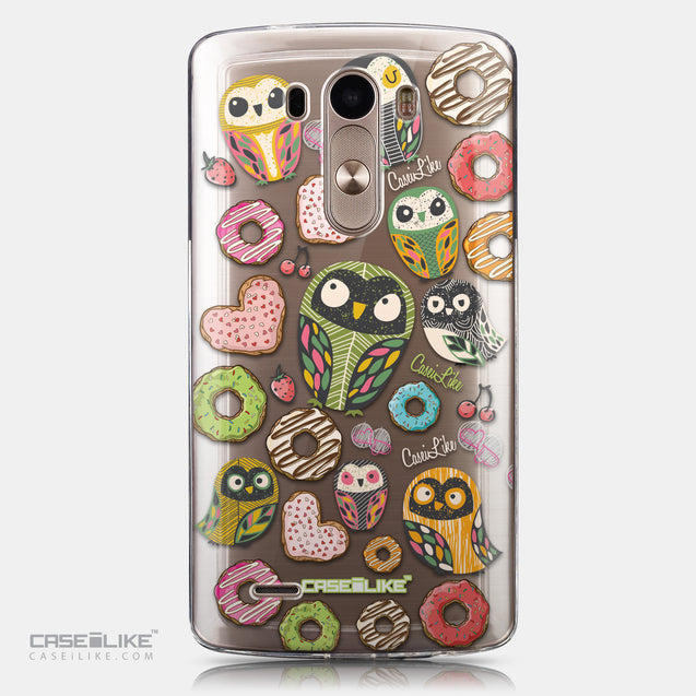 CASEiLIKE LG G3 back cover Owl Graphic Design 3315