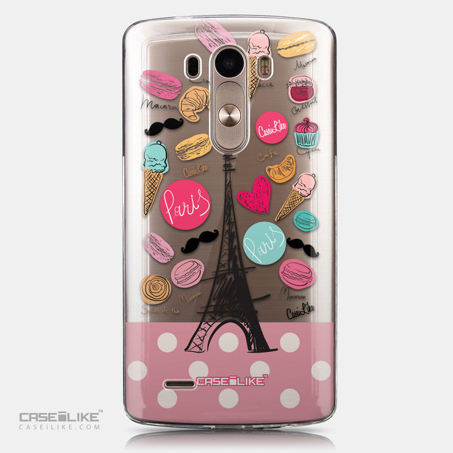 CASEiLIKE LG G3 back cover Paris Holiday 3904