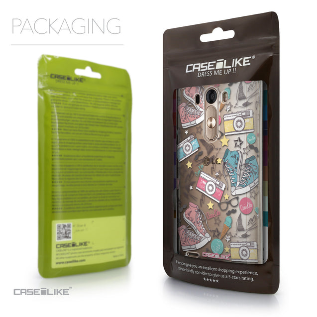 Packaging - CASEiLIKE LG G3 back cover Paris Holiday 3906