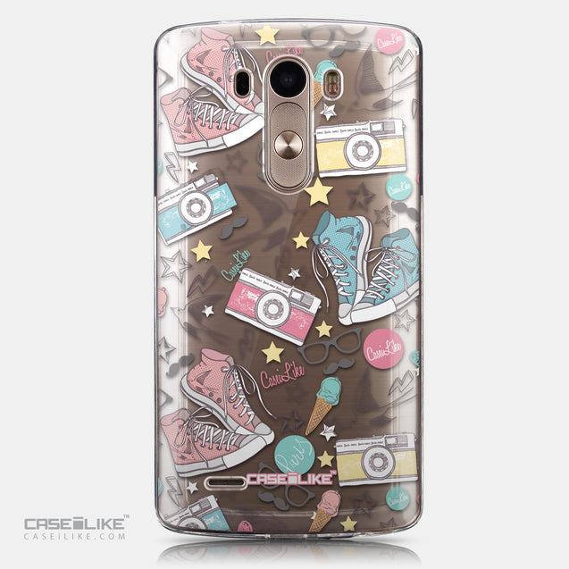 CASEiLIKE LG G3 back cover Paris Holiday 3906