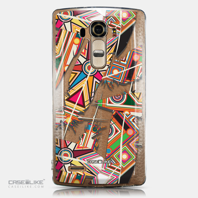 CASEiLIKE LG G4 back cover Indian Tribal Theme Pattern 2054