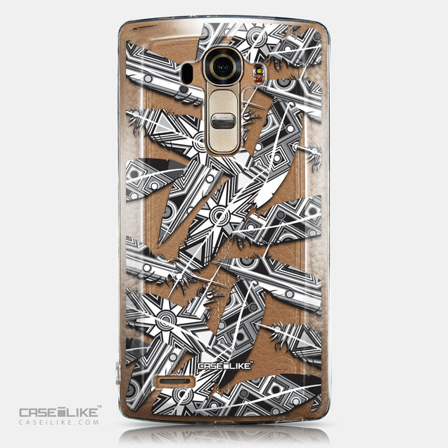 CASEiLIKE LG G4 back cover Indian Tribal Theme Pattern 2056