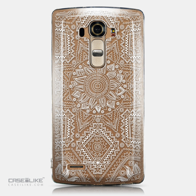 CASEiLIKE LG G4 back cover Indian Line Art 2061