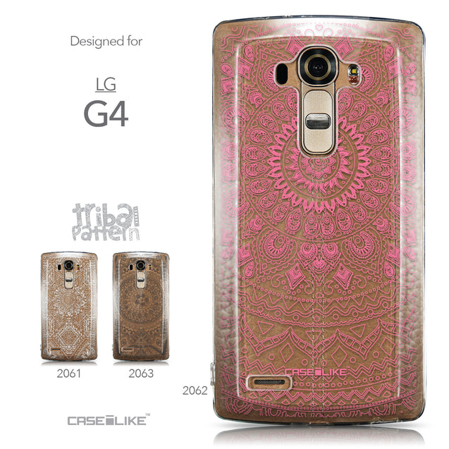 Collection - CASEiLIKE LG G4 back cover Indian Line Art 2062