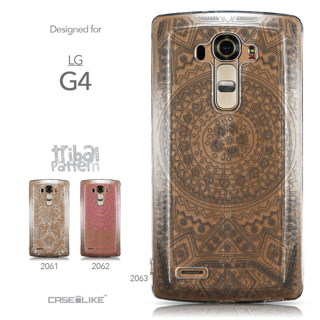 Collection - CASEiLIKE LG G4 back cover Indian Line Art 2063