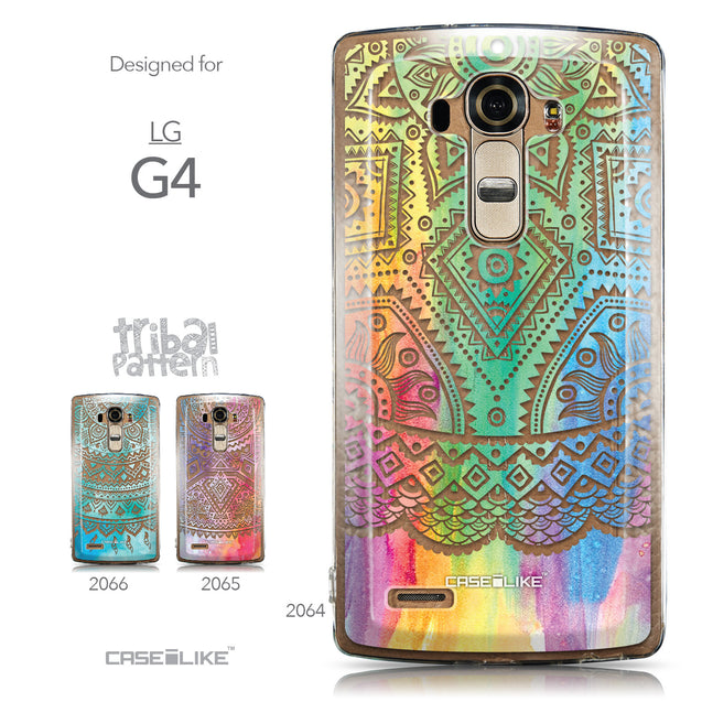 Collection - CASEiLIKE LG G4 back cover Indian Line Art 2064