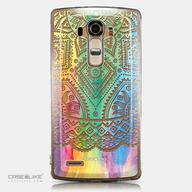 CASEiLIKE LG G4 back cover Indian Line Art 2064