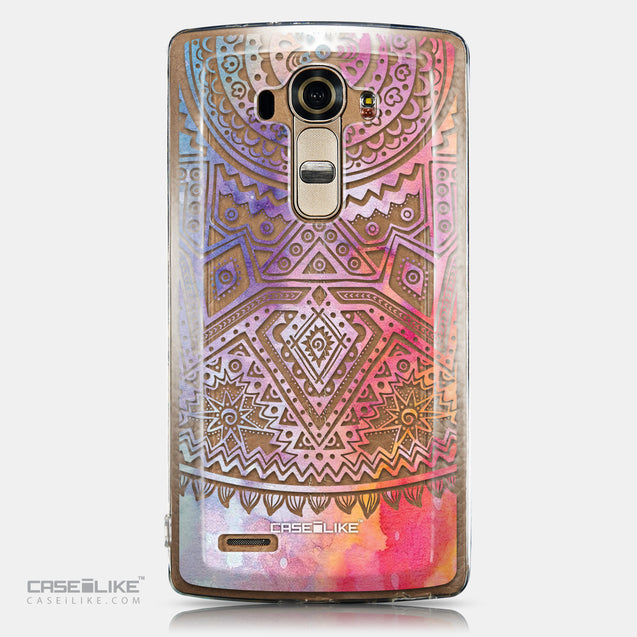CASEiLIKE LG G4 back cover Indian Line Art 2065
