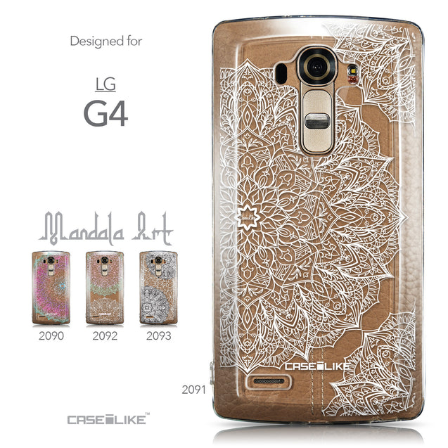 Collection - CASEiLIKE LG G4 back cover Mandala Art 2091