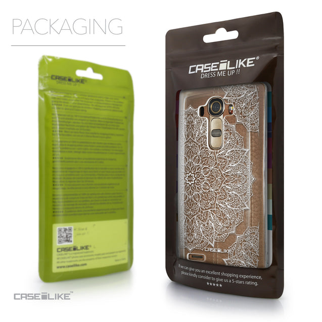 Packaging - CASEiLIKE LG G4 back cover Mandala Art 2091