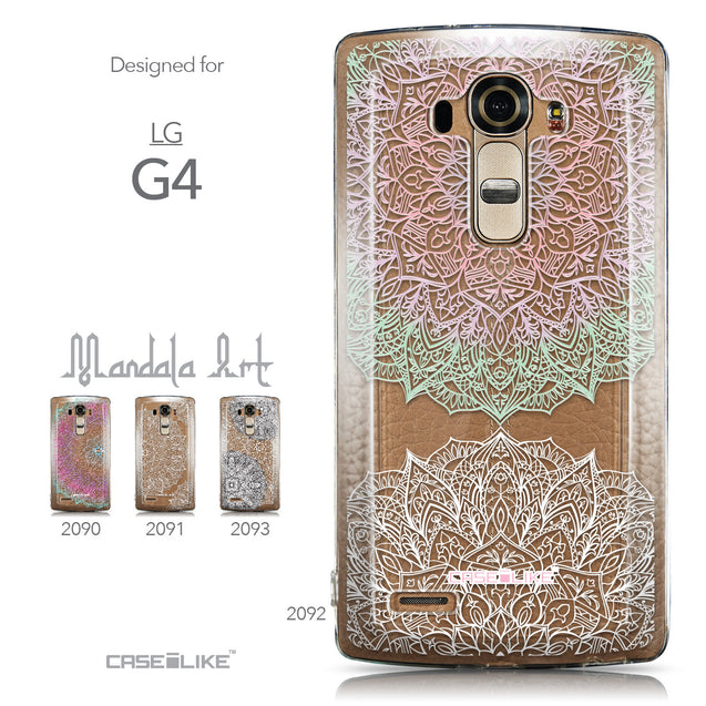 Collection - CASEiLIKE LG G4 back cover Mandala Art 2092
