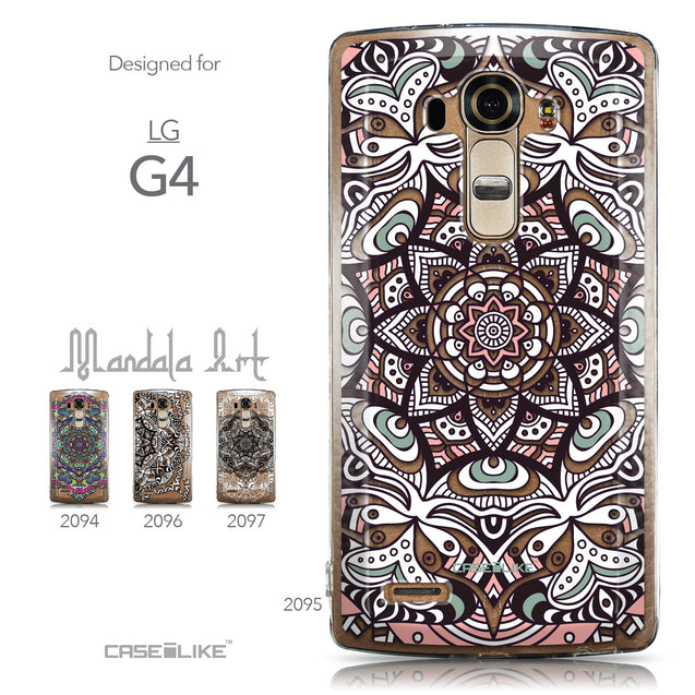 Collection - CASEiLIKE LG G4 back cover Mandala Art 2095