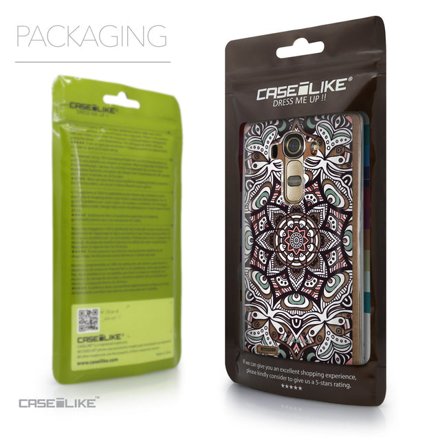 Packaging - CASEiLIKE LG G4 back cover Mandala Art 2095