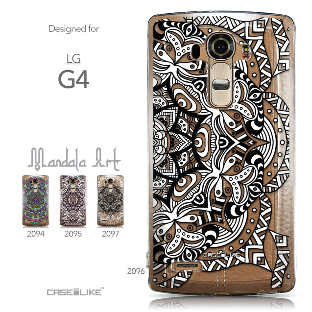 Collection - CASEiLIKE LG G4 back cover Mandala Art 2096