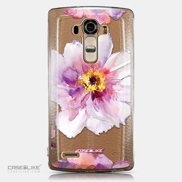 CASEiLIKE LG G4 back cover Watercolor Floral 2231