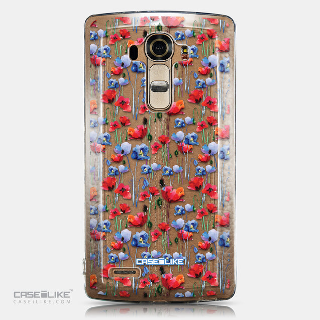 CASEiLIKE LG G4 back cover Watercolor Floral 2233