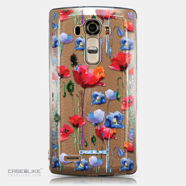 CASEiLIKE LG G4 back cover Watercolor Floral 2234