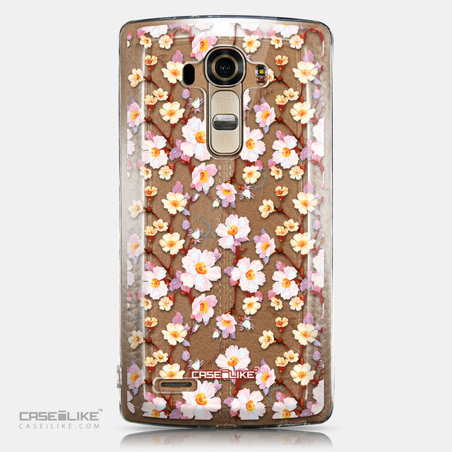 CASEiLIKE LG G4 back cover Watercolor Floral 2236