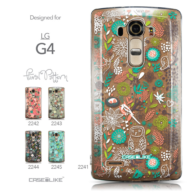 Collection - CASEiLIKE LG G4 back cover Spring Forest White 2241