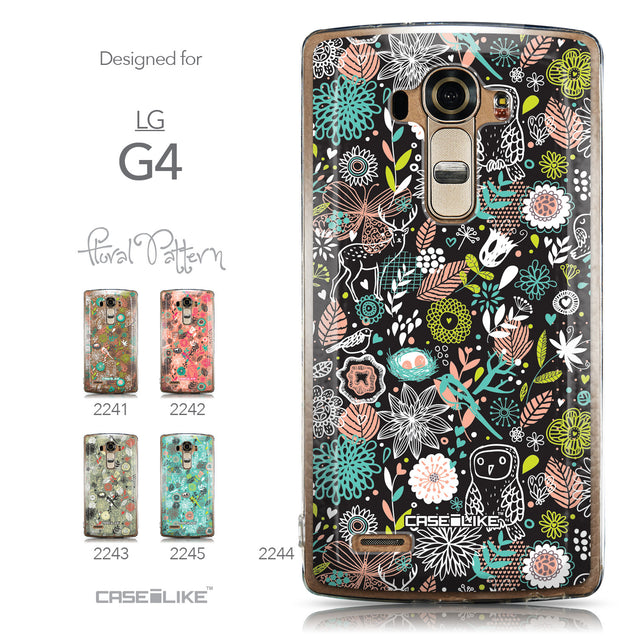 Collection - CASEiLIKE LG G4 back cover Spring Forest Black 2244