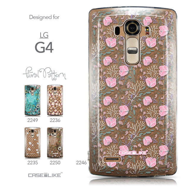 Collection - CASEiLIKE LG G4 back cover Flowers Herbs 2246