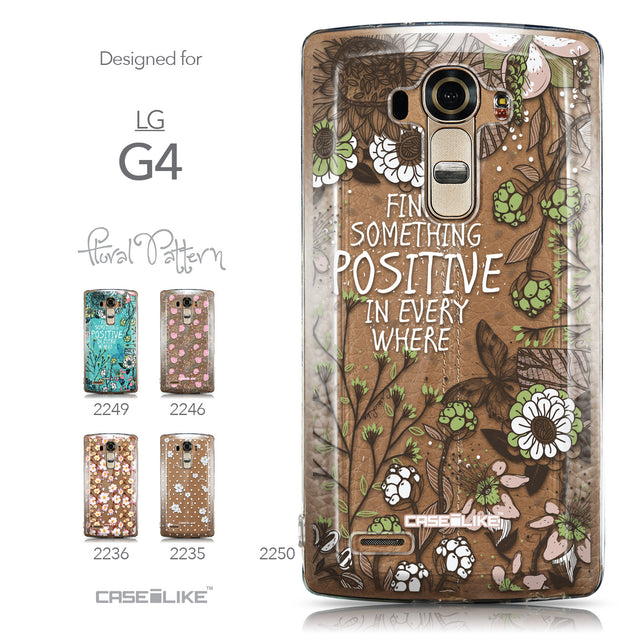 Collection - CASEiLIKE LG G4 back cover Blooming Flowers 2250