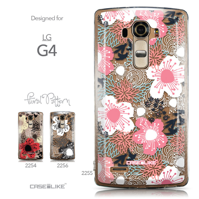 Collection - CASEiLIKE LG G4 back cover Japanese Floral 2255