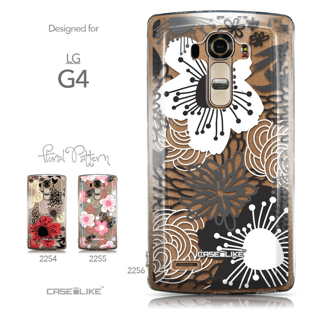 Collection - CASEiLIKE LG G4 back cover Japanese Floral 2256