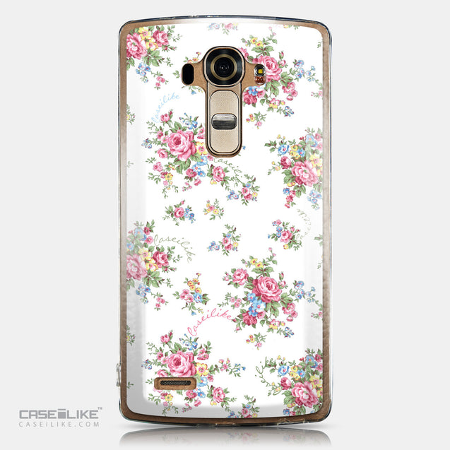 CASEiLIKE LG G4 back cover Floral Rose Classic 2260