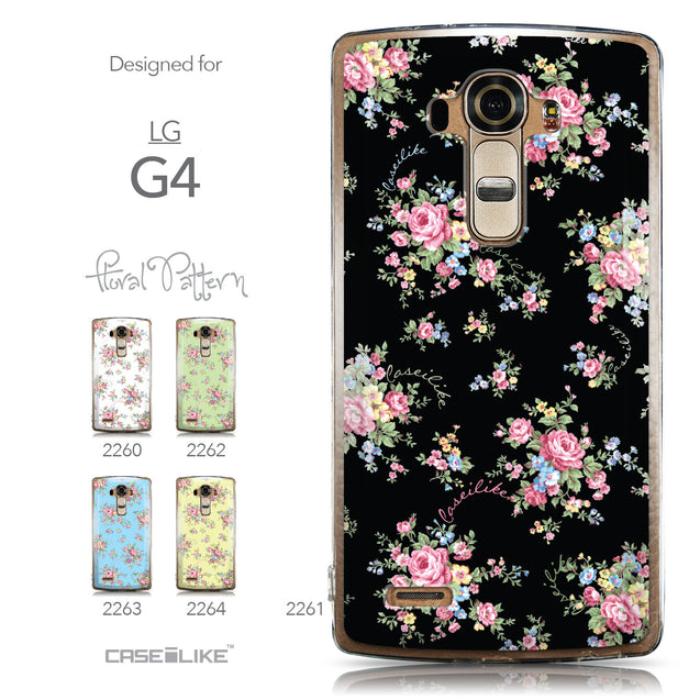 Collection - CASEiLIKE LG G4 back cover Floral Rose Classic 2261