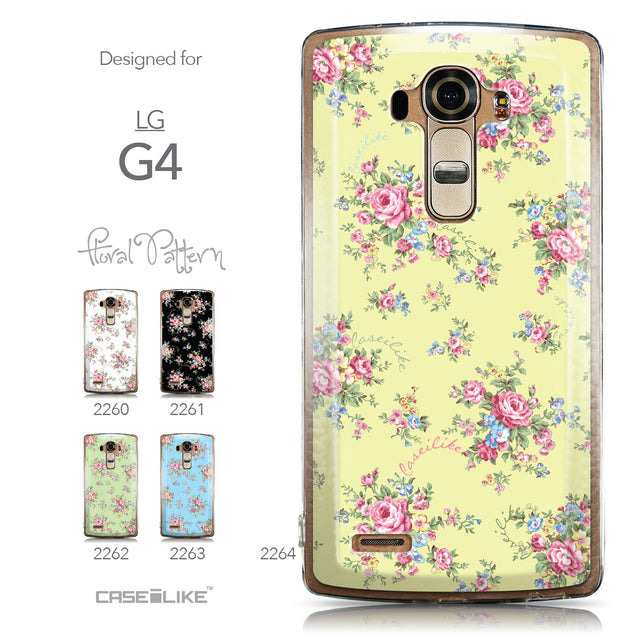 Collection - CASEiLIKE LG G4 back cover Floral Rose Classic 2264