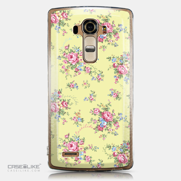 CASEiLIKE LG G4 back cover Floral Rose Classic 2264