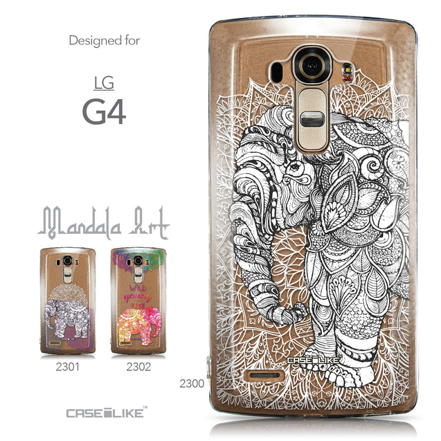 Collection - CASEiLIKE LG G4 back cover Mandala Art 2300