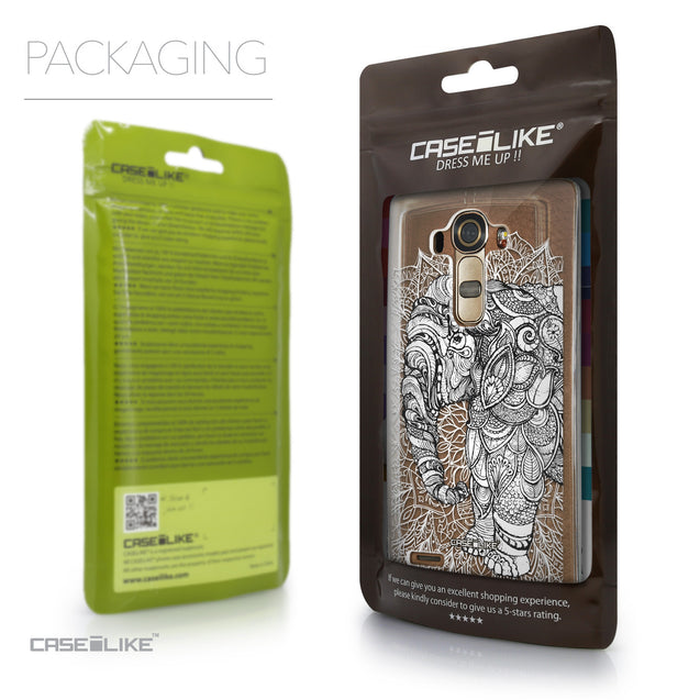 Packaging - CASEiLIKE LG G4 back cover Mandala Art 2300