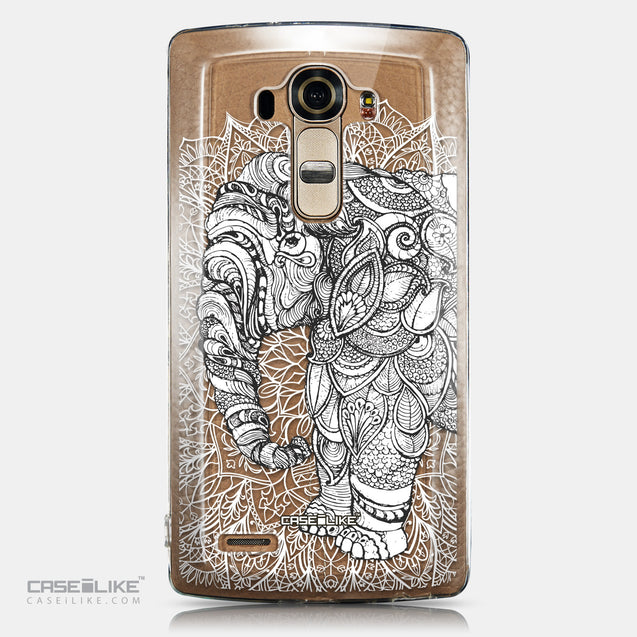CASEiLIKE LG G4 back cover Mandala Art 2300