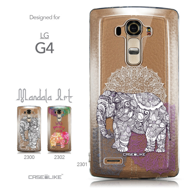 Collection - CASEiLIKE LG G4 back cover Mandala Art 2301